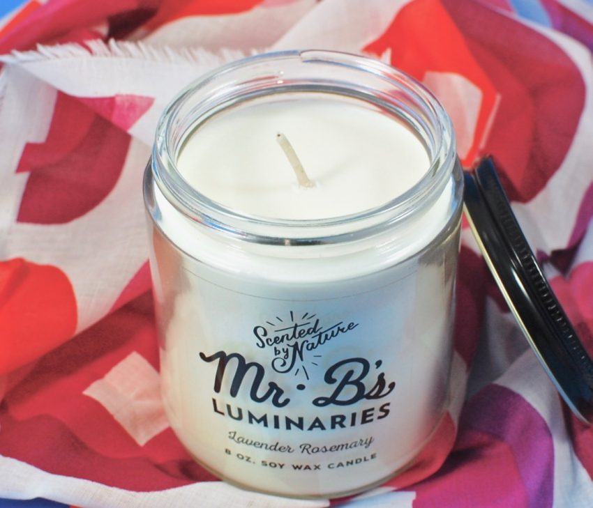 Mr. B's lavender rosemary candle