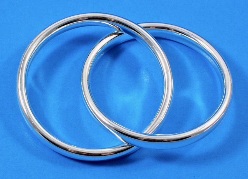 zoe interlocking bangles