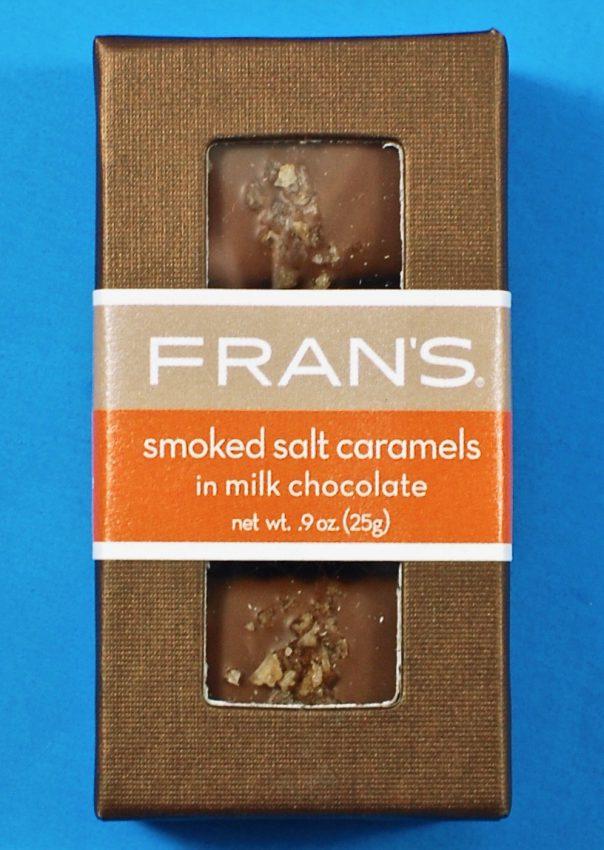 Fran's smoked salt caramels