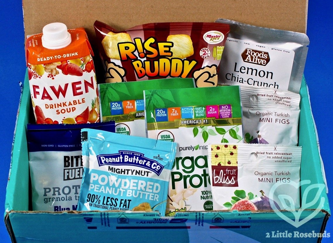 May 2017 Fit Snack review