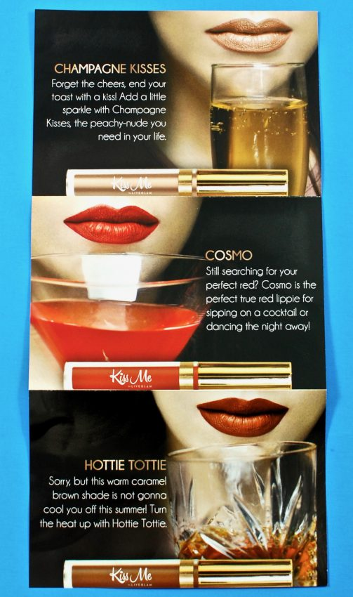 KissMe lipstick coupon