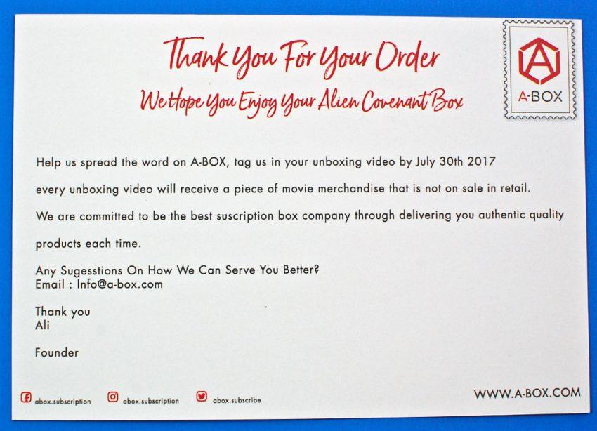 A-Box review