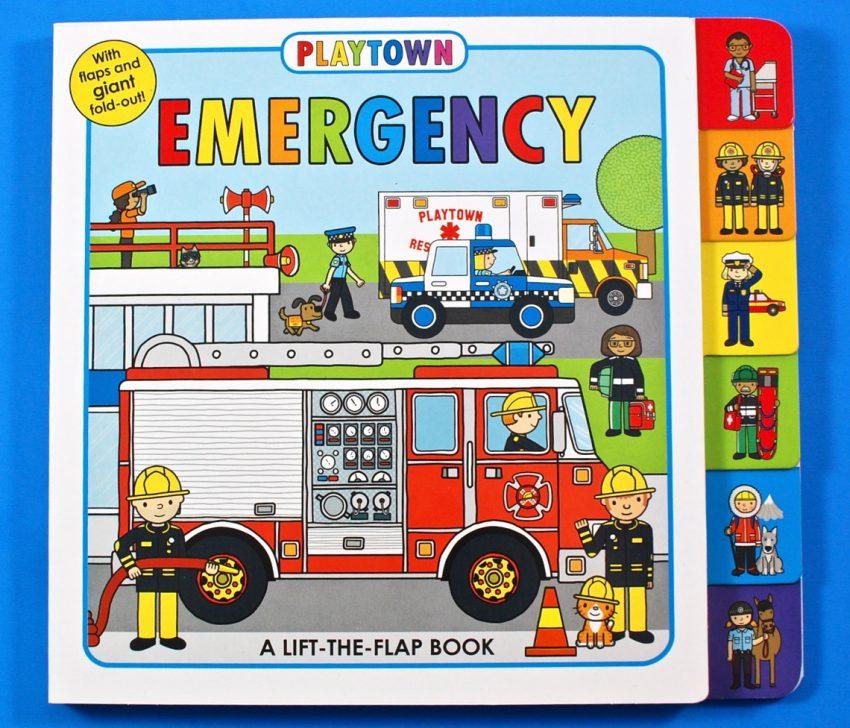 Emergency vehicles book