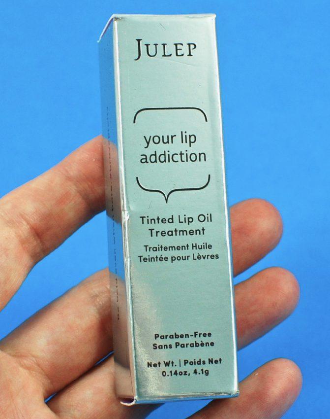 Julep lip oil treatment