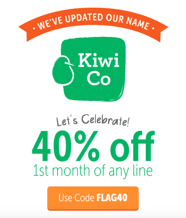 Kiwi Co coupon