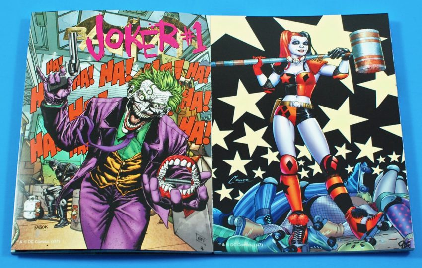 DC Comics poster book