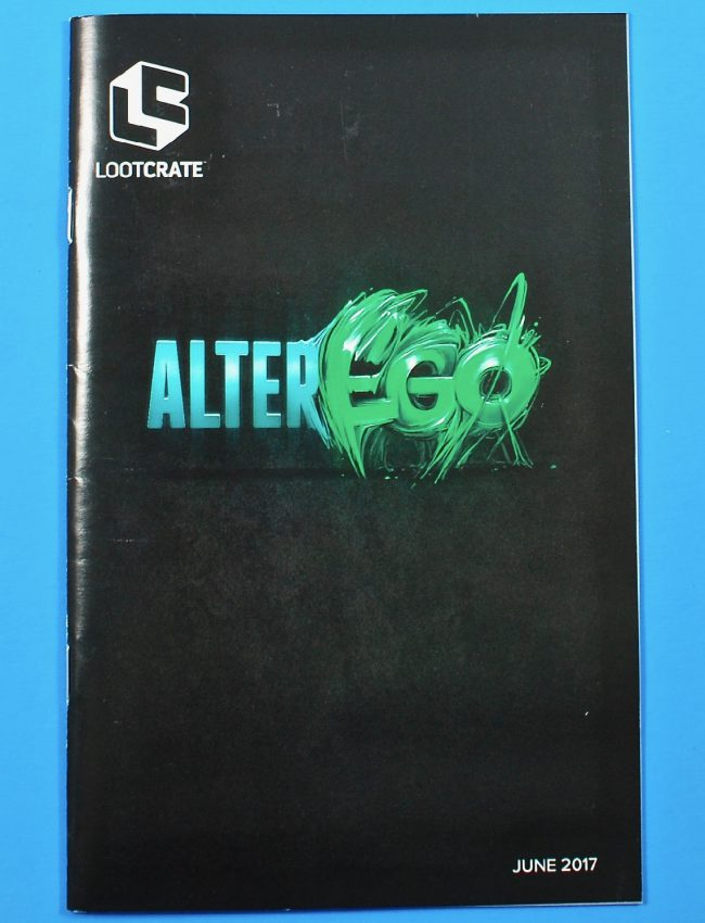 Loot Crate Alter Ego unboxing