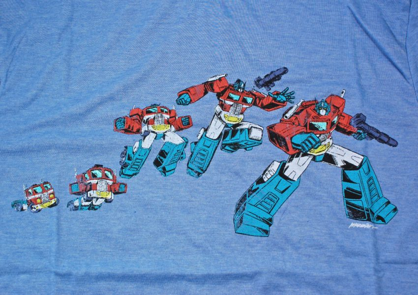 Loot Crate Transformers shirt