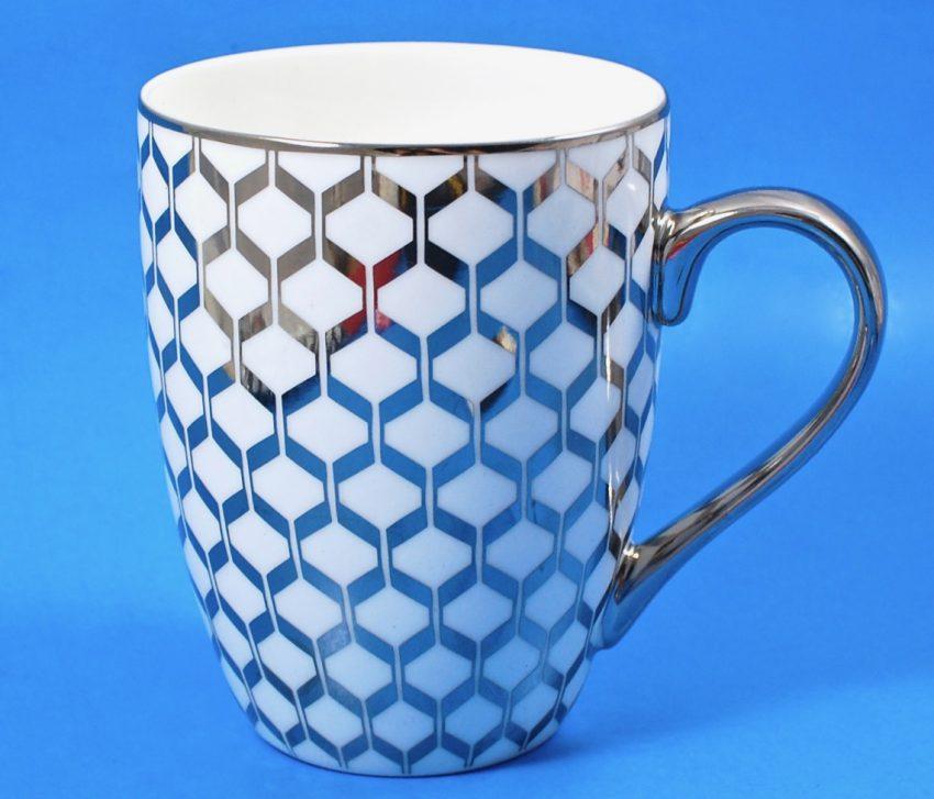 CI Silver plated mug