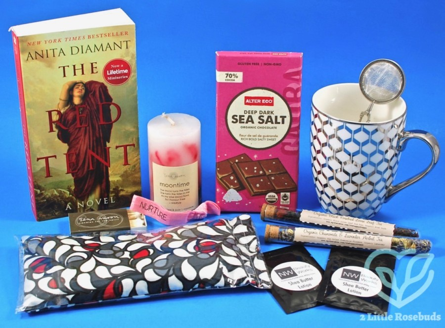 June 2017 Pampered Period Box review