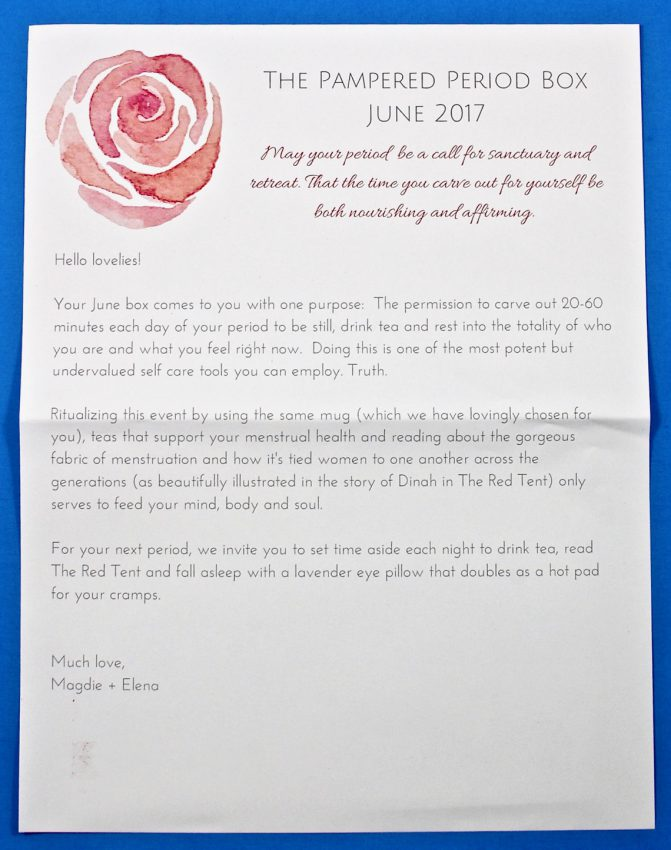 pampered period box review