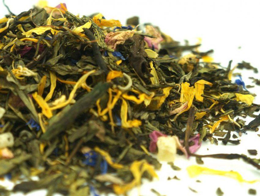 flower crown tea