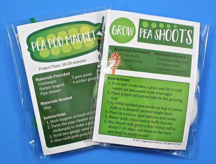 Veggie Buds Club activity