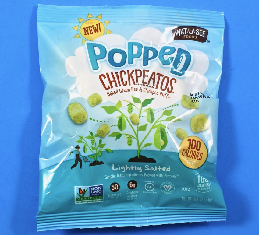 Popped chickpeas
