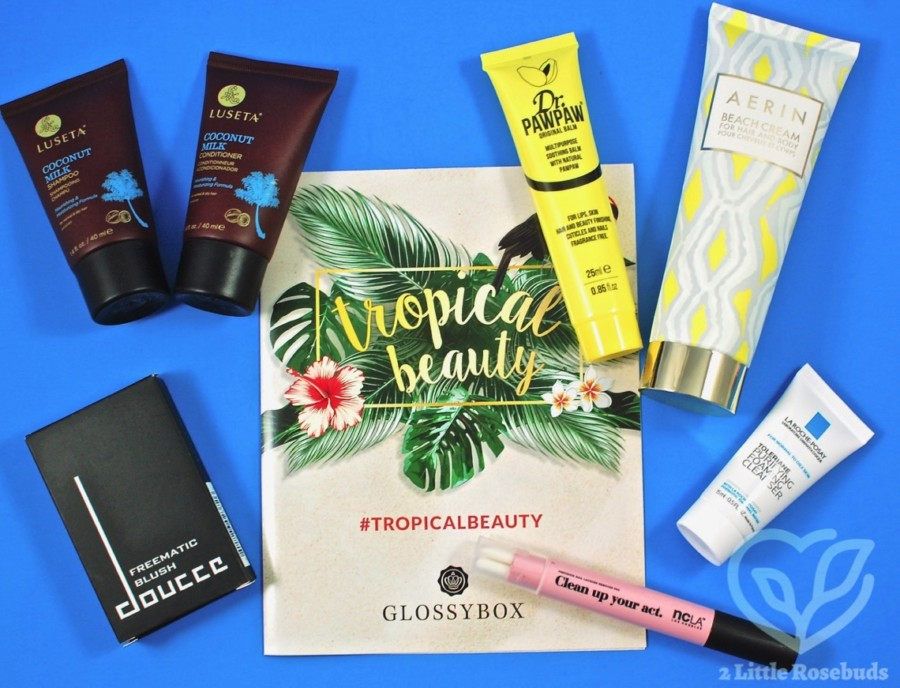 July 2017 Glossybox review