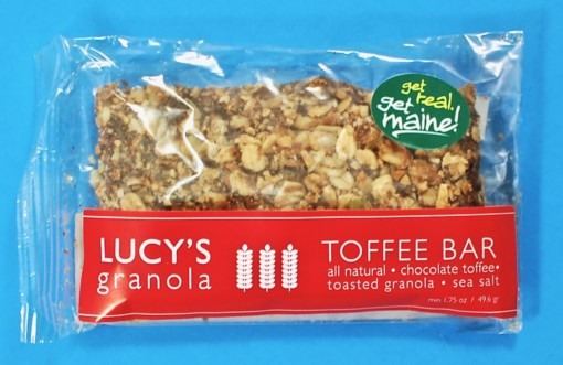 Lucy's granola toffee bar