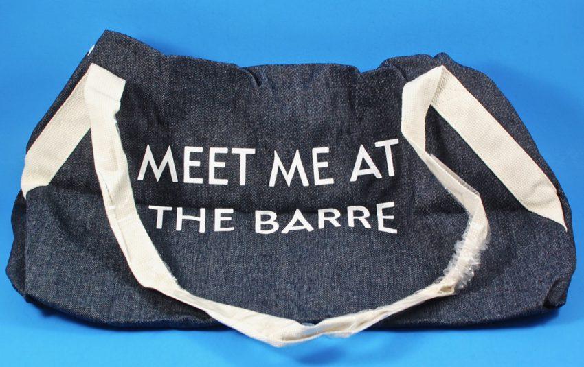 Meet Me at the Barre bag