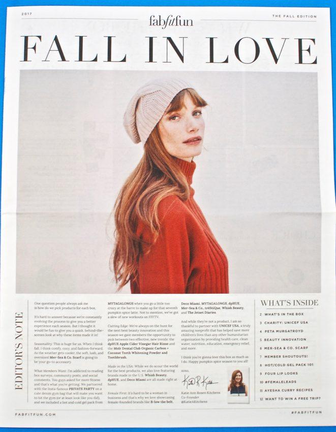 Fall 2017 Fab Fit Fun review