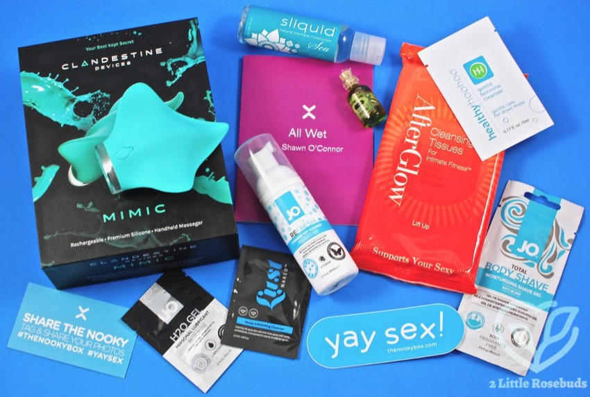 August 2017 Nooky box review