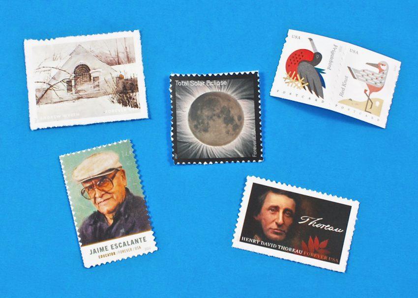 eclipse stamp