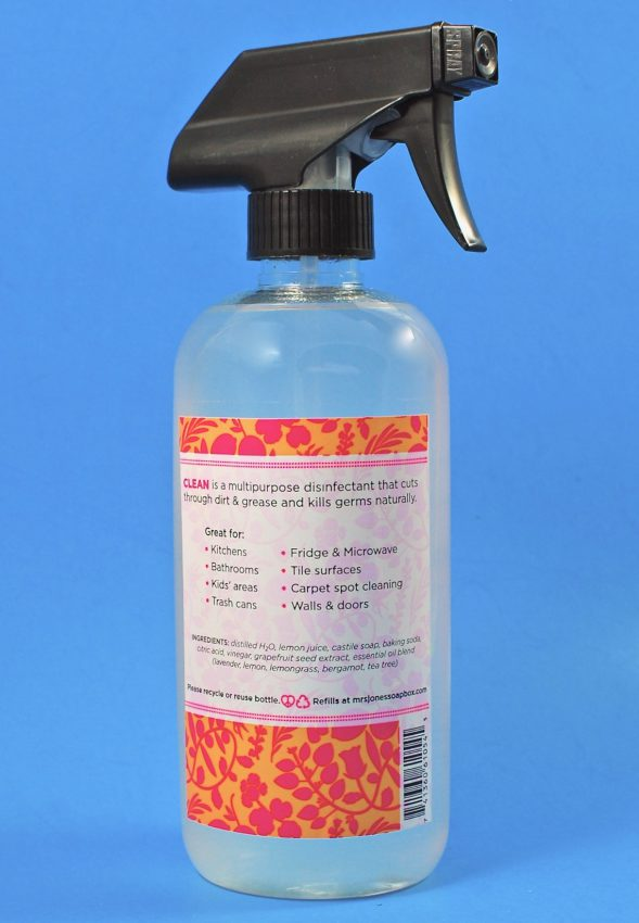 Mrs. Jones Soapbox All-Purpose Disinfecting Spray