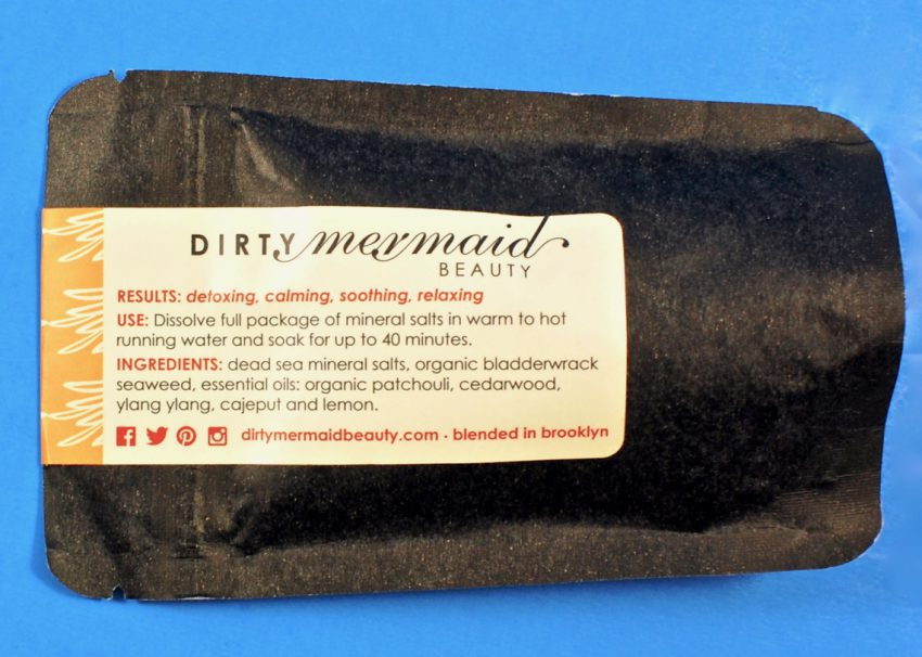 Dirty Mermaid bath salts
