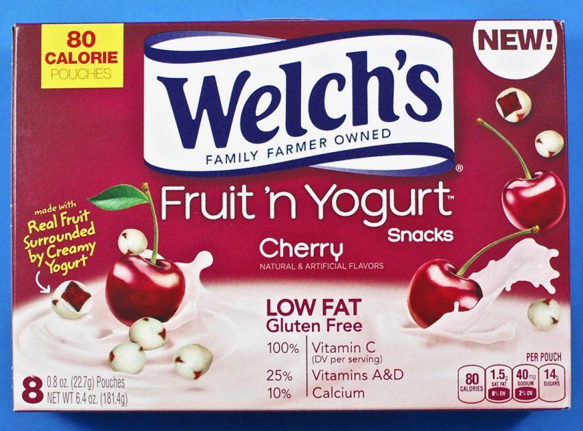 Welch's fruit n' yogurt