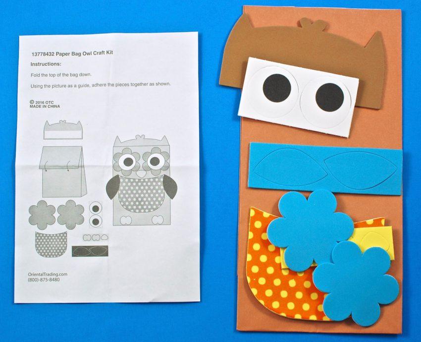 paper bag owl