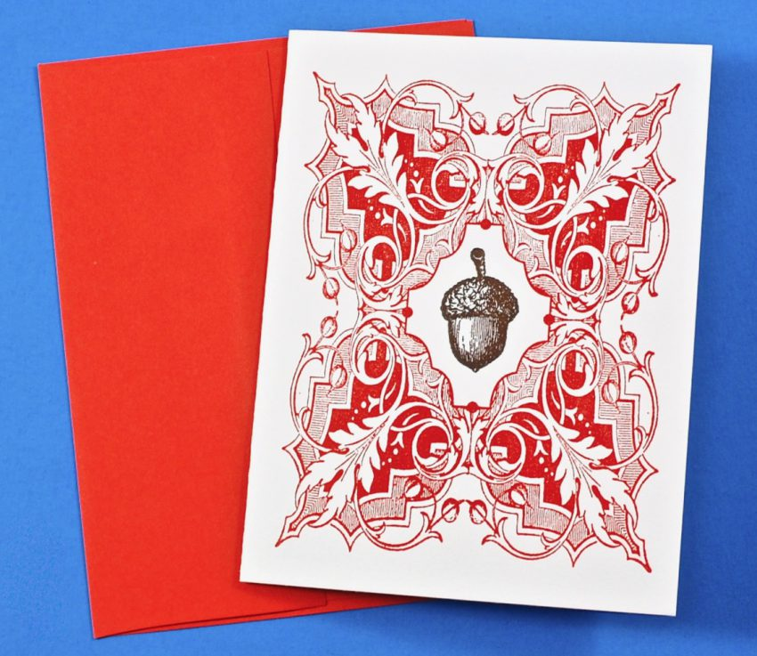 acorn card