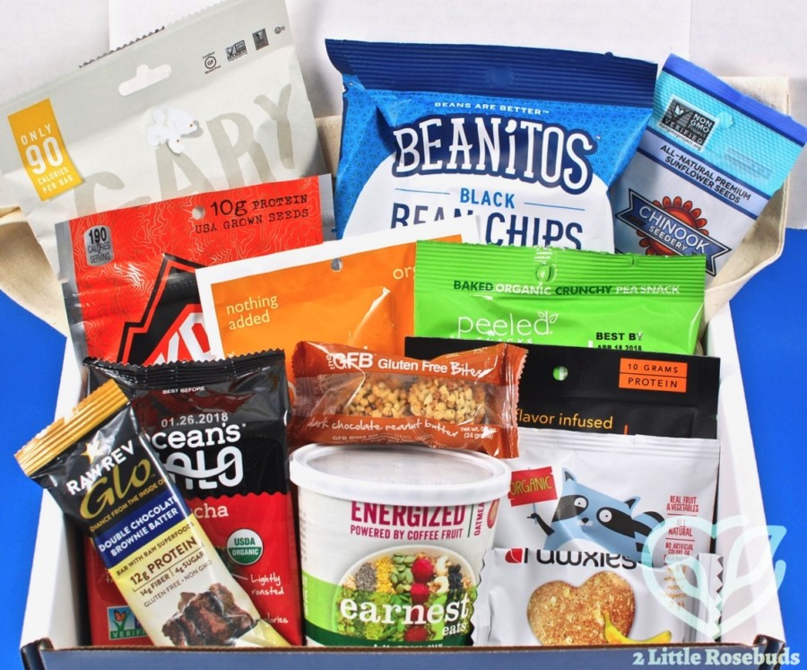 October 2017 Snack Sack review