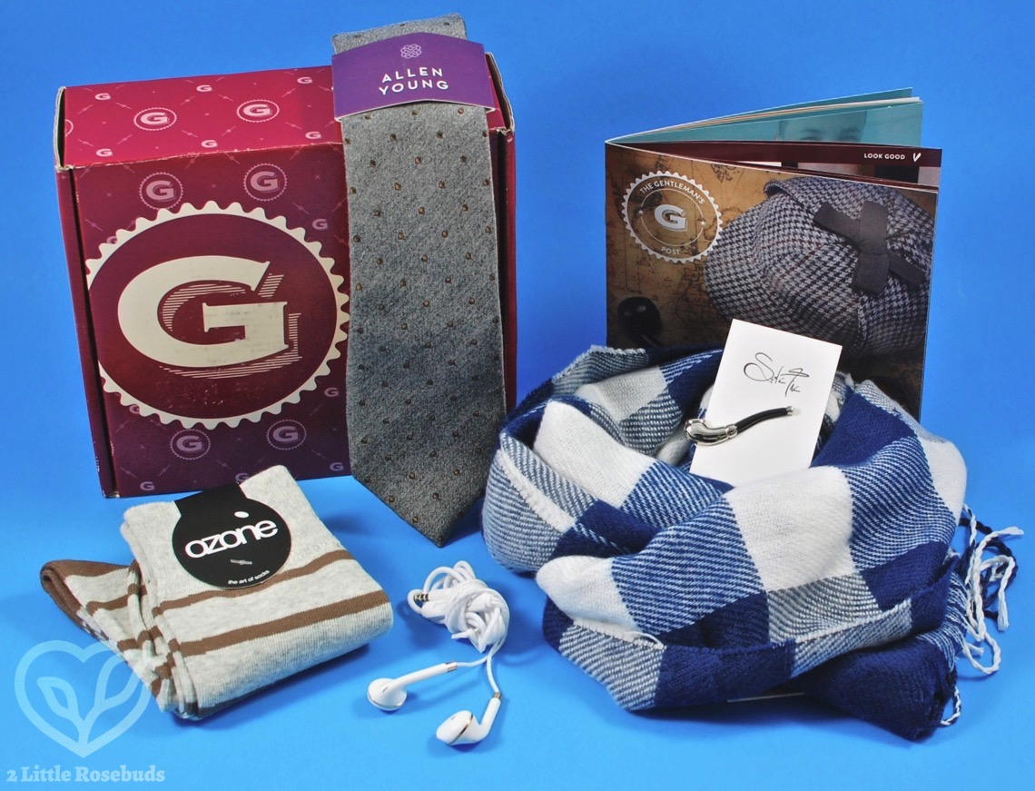 December 2017 Gentleman's Box review