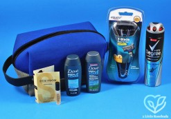Walmart Men's Grooming bag review