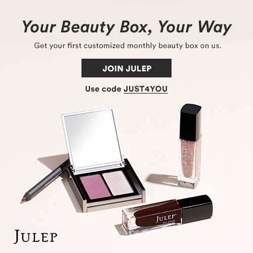 Build your own free Julep beauty box