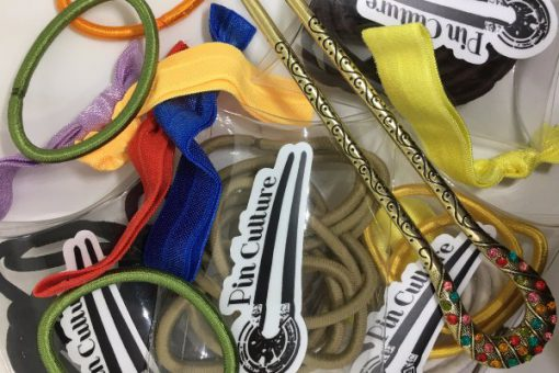 Pin Culture hair bands