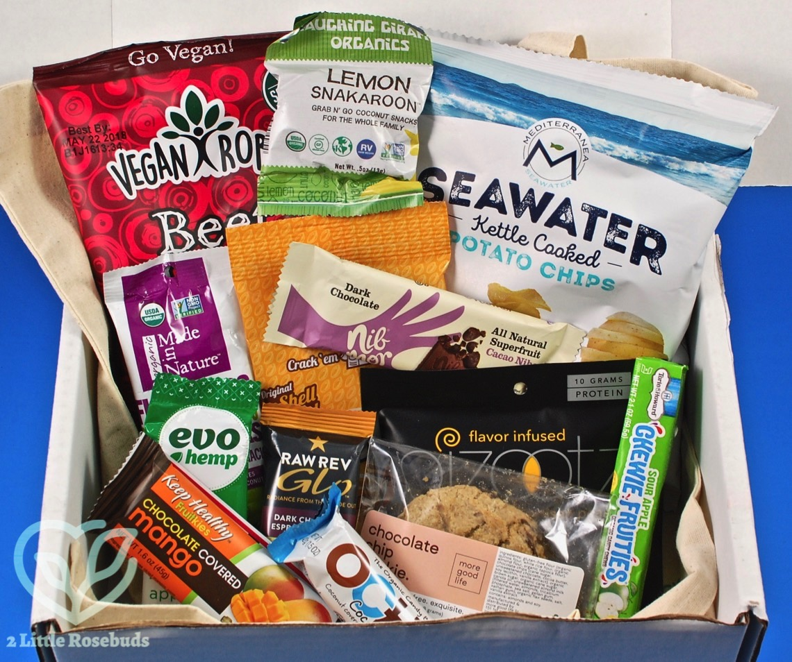 February 2018 Snack Sack review