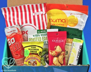 March 2018 Fit Snack review