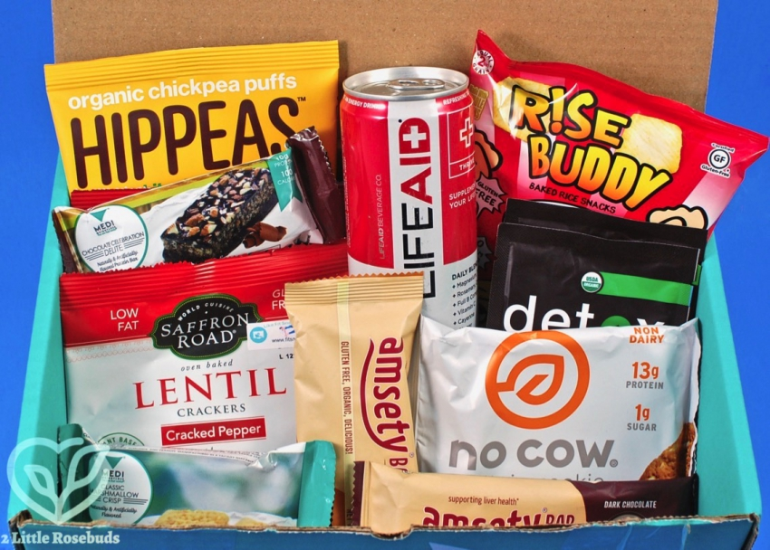 April 2018 Fit Snack review
