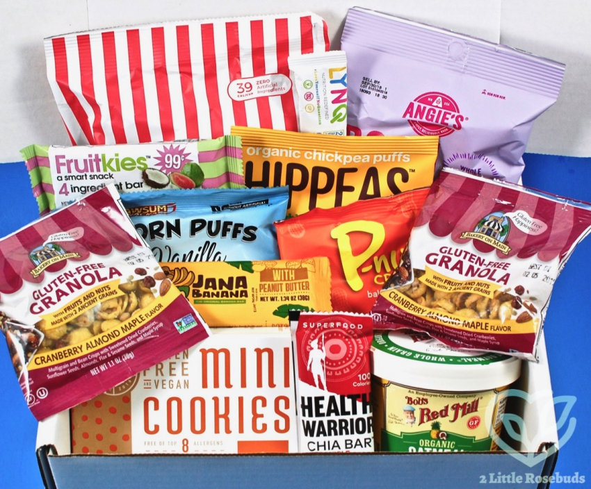 April 2018 Snacksack review