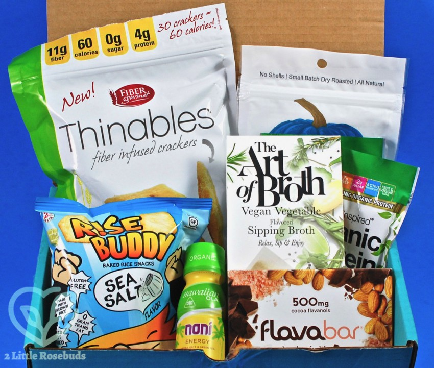 June 2018 Fit Snack review