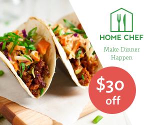 Home Chef save $30 coupon
