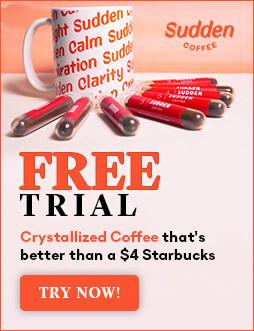 Sudden Coffee free trial box