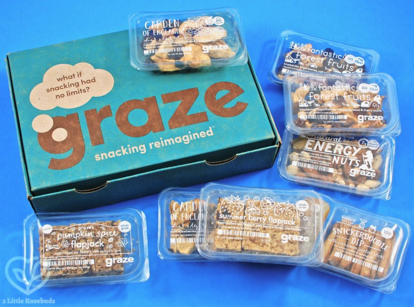 July 2018 Graze box review