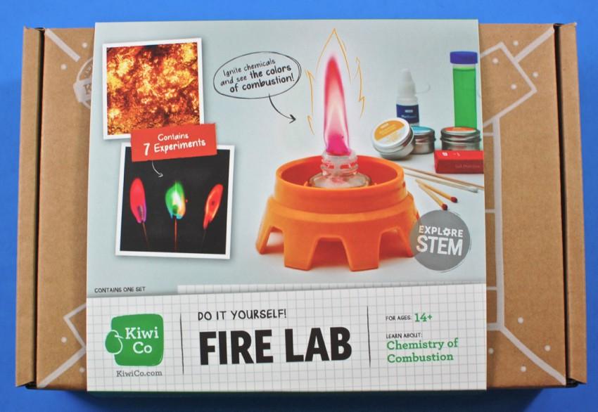 Kiwi Co fire lab review