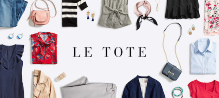 Le Tote coupon