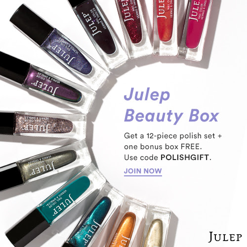 Julep FREE 12-Piece Full Size Polish Gift Set AND Bonus Box with Subscription