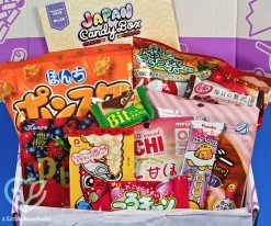 November 2018 Japan Candy Box review