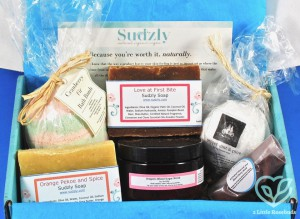 October 2018 Sudzly box review