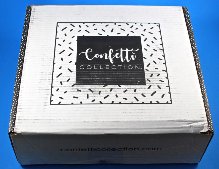 Confetti Collection box