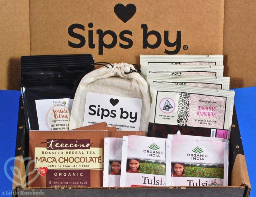 June 2019 Sips By box review
