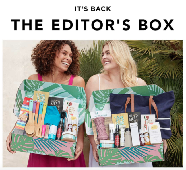 FabFitFun Summer 2019 Editor's Box coupon